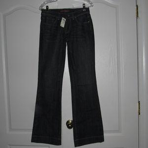 Arden B Flare Leg Dark Wash Jeans Size 2